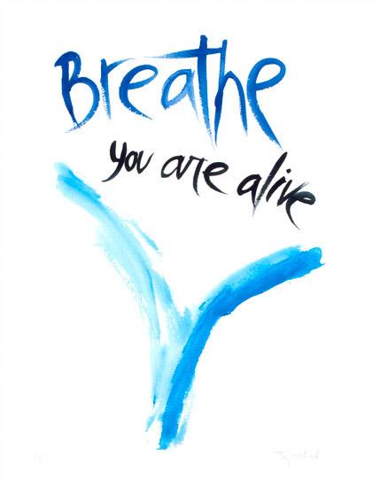 """Breathe, 2002, watercolor, 14"""" x 10 ¼"""""""