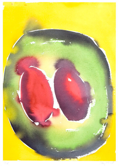 """I Have Lived, 2002, watercolor, 14"""" x 10 ¼"""""""