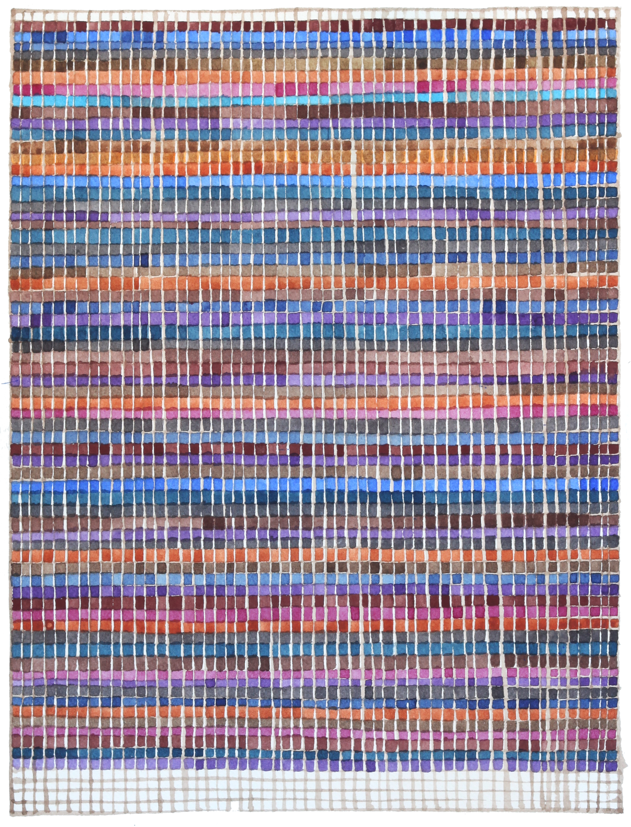 """Concurrences #20, 2015,  12 x 9.25"""""""
