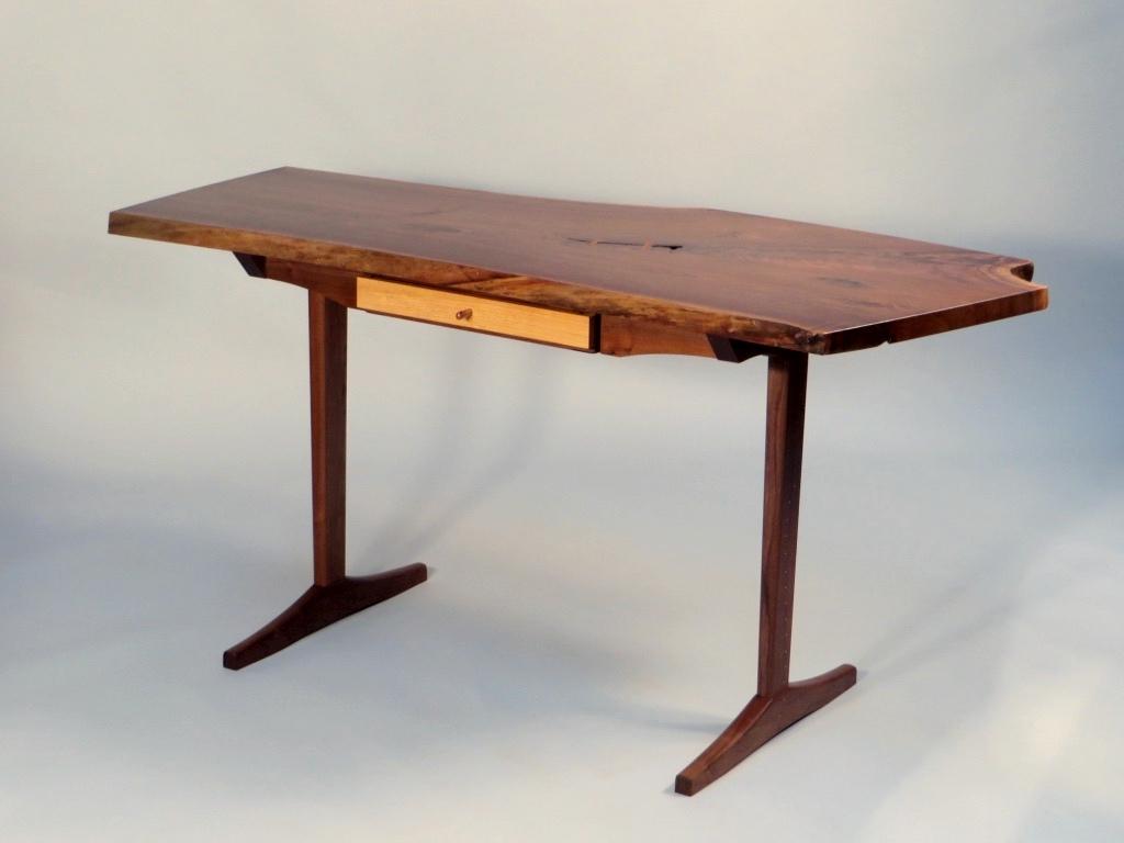 Walnut Slab Desk