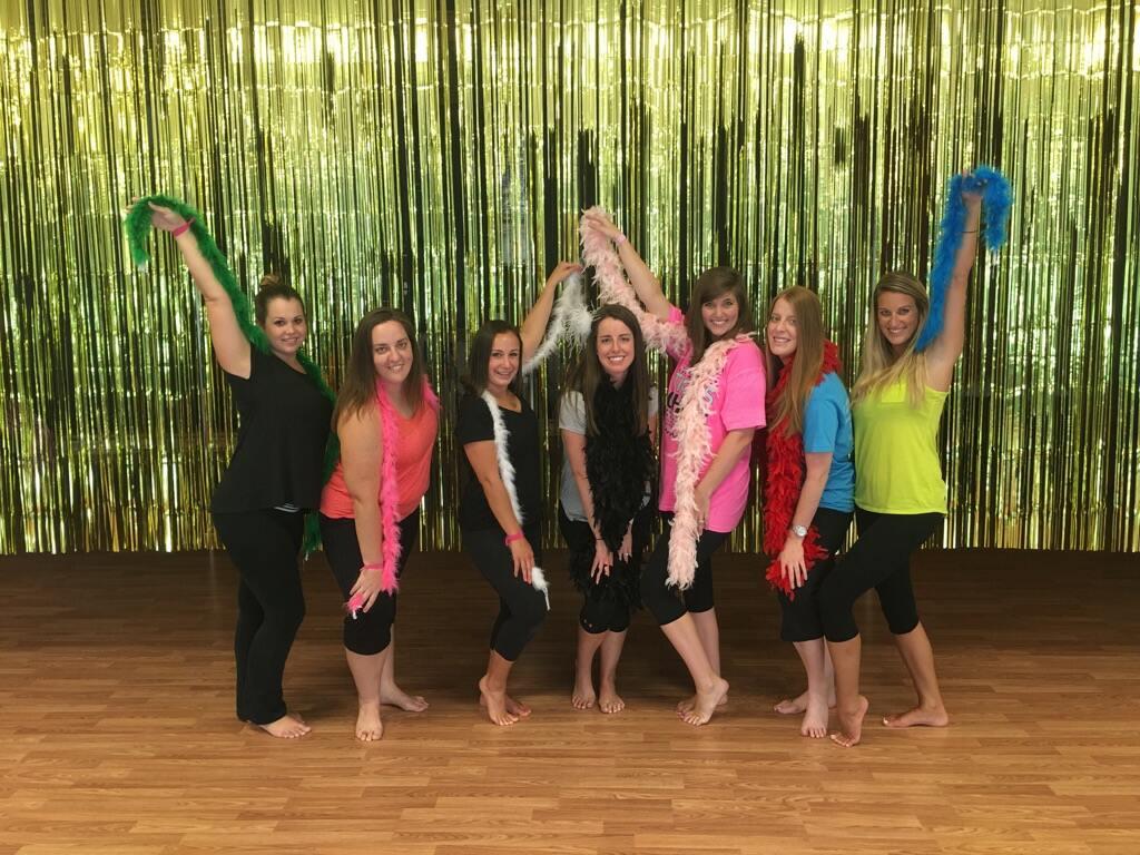 bachelorette pole parties, burlesque parties, dance parties in Asheville, NC