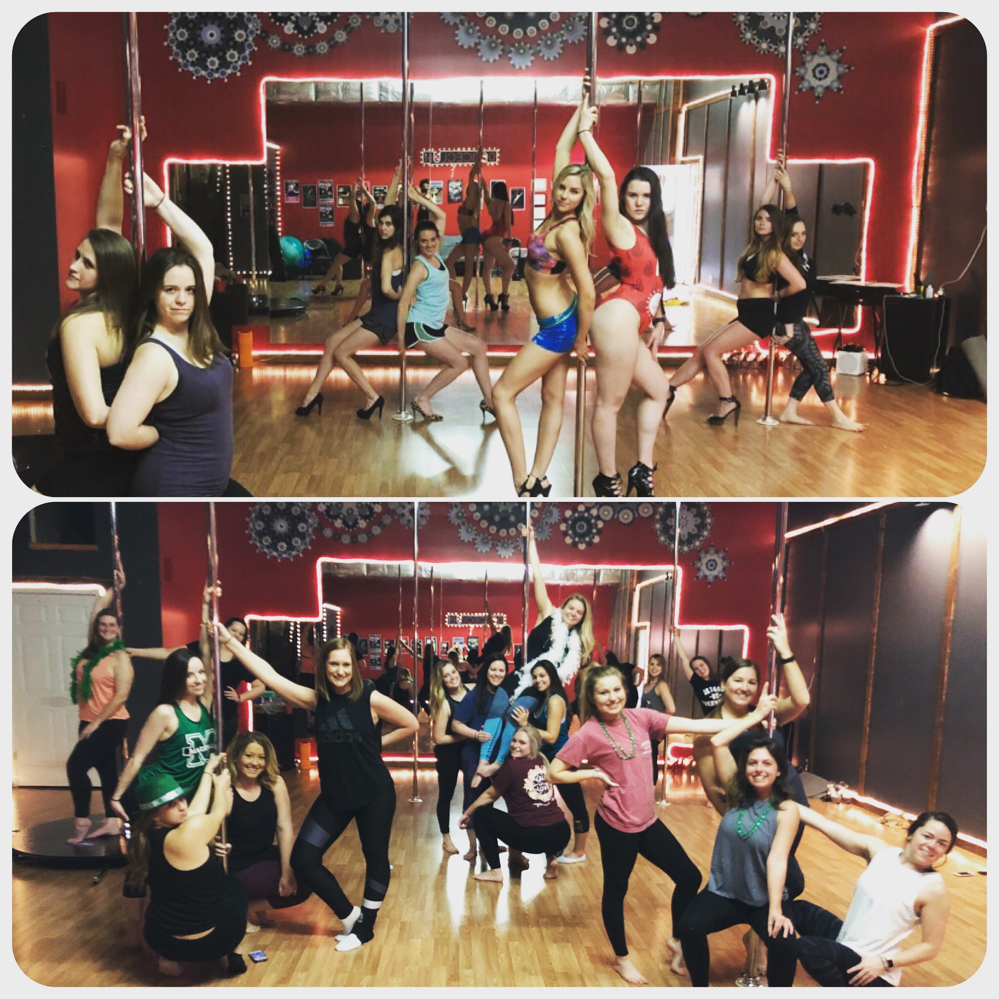 Bachelorette Pole Parties and Dance Parties at Danceclub Asheville