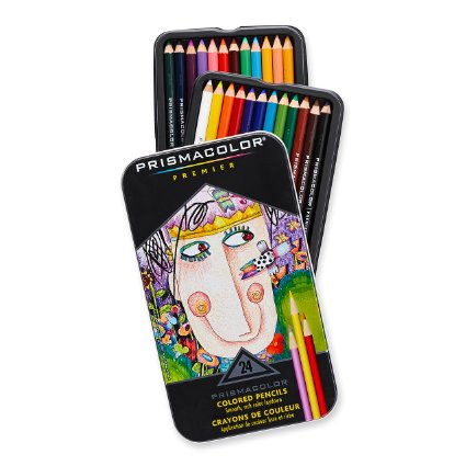 Prismacolor Colored Pencils :  Nothing beats the vibrance and smoothness of these colored pencils.  Trust me.  Your teen will love them.  Actually, ANYONE on your list will love them!