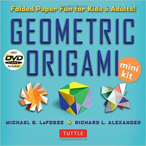 Origami Kit : This mini kit is a great intro to origami.  With an instruction book, paper and DVD, your teen will be creating mathematical art immediately.
