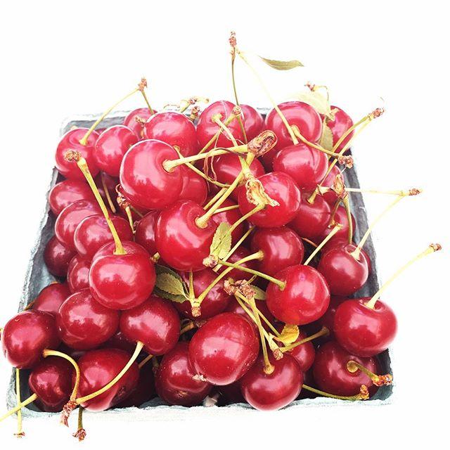 Afternoon Delight...! #sourcherry #unionsquaregreenmarket #inseason #vegan