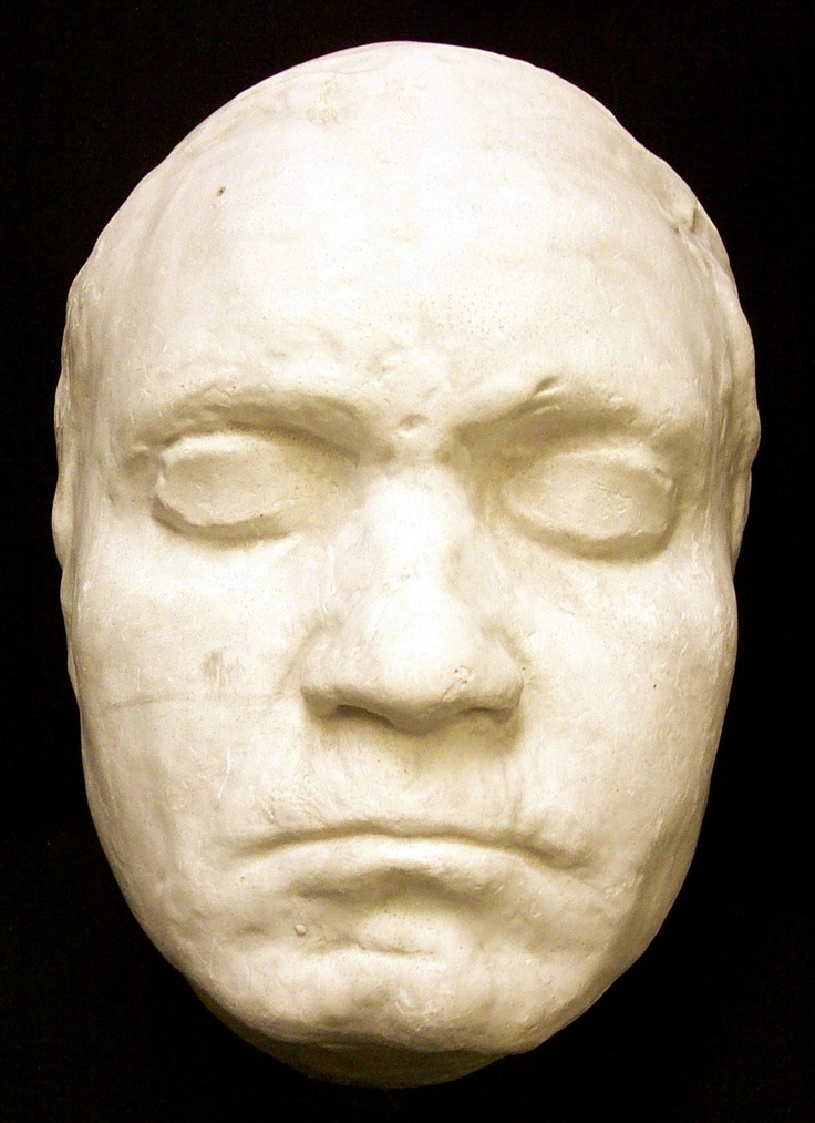 Beethoven's death-mask