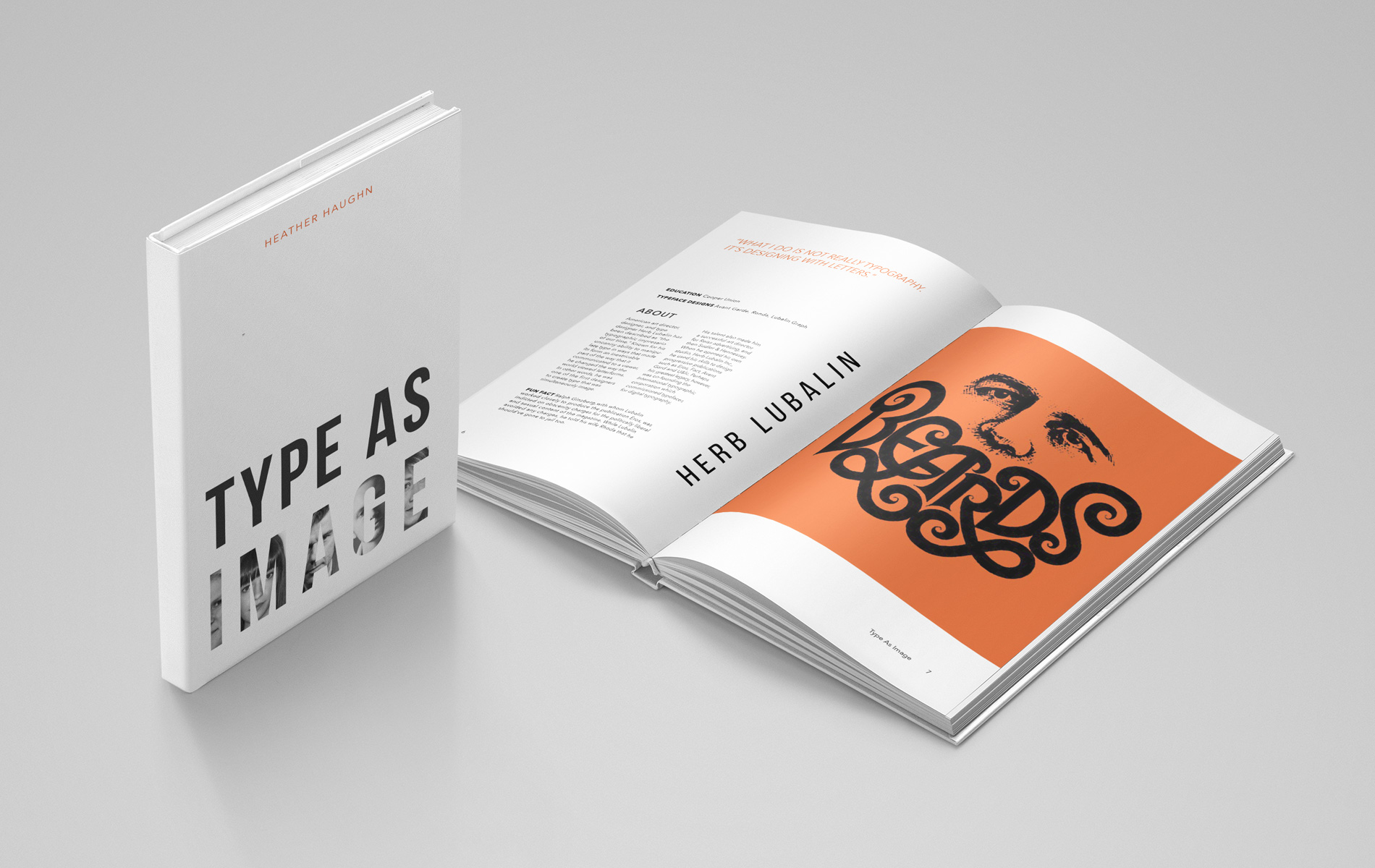 Heather Haughn  provides examples of creative expression through lettering in  Type as Image .
