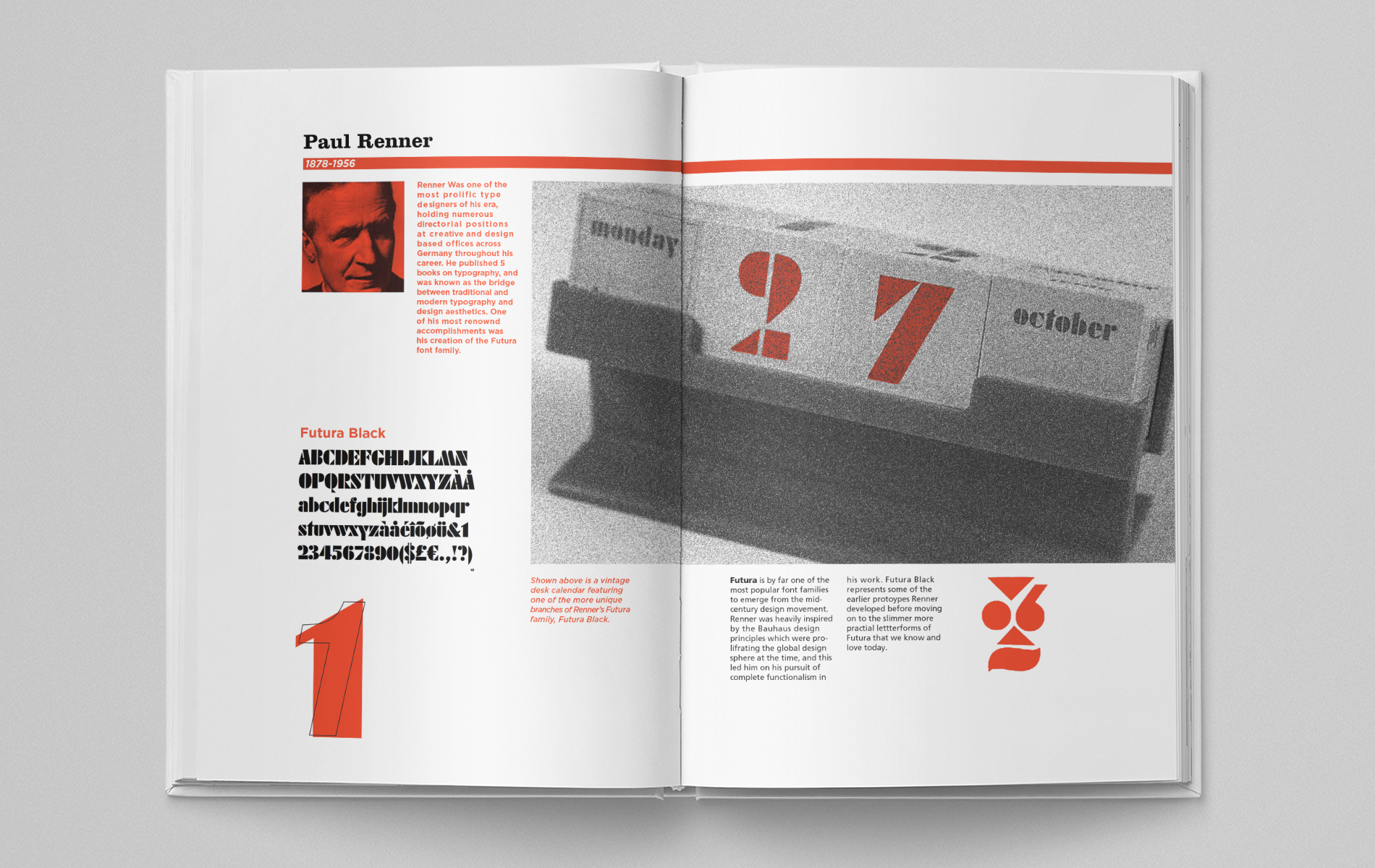Typographers of the mid-century modern movement are featured in  Jack Comer 's book.