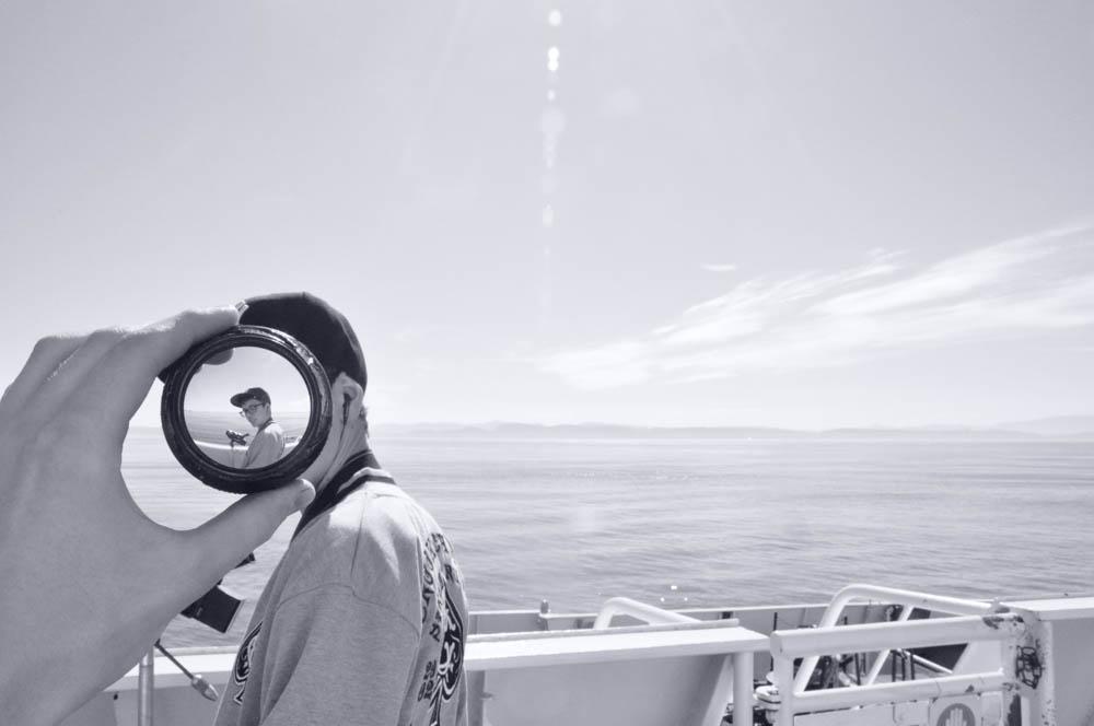"""Ballcap Lense Seaside"" by Aidan Zecchel"