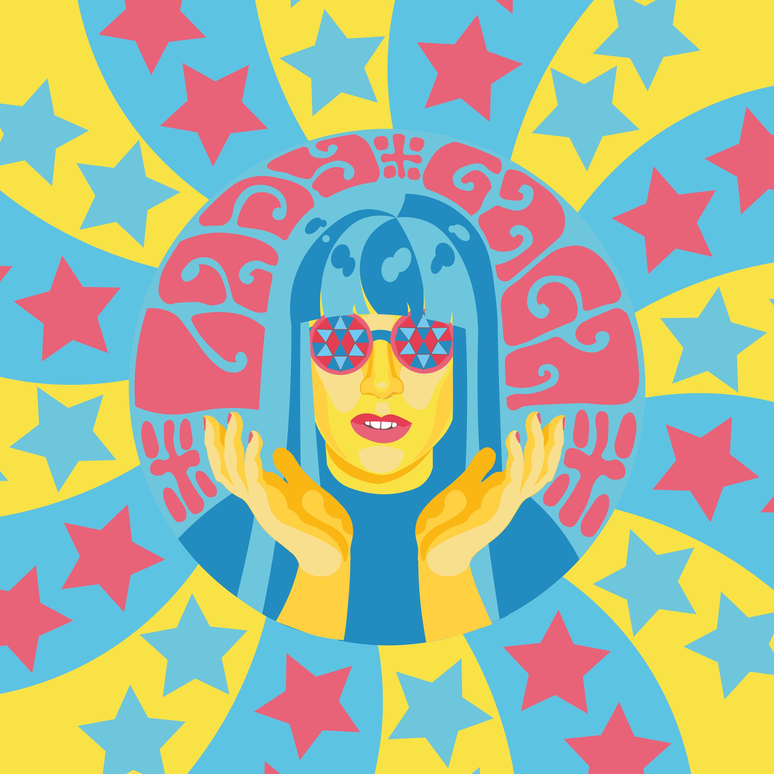 """""""Psychedelic Gaga""""—Anna Tsybulnyk"""