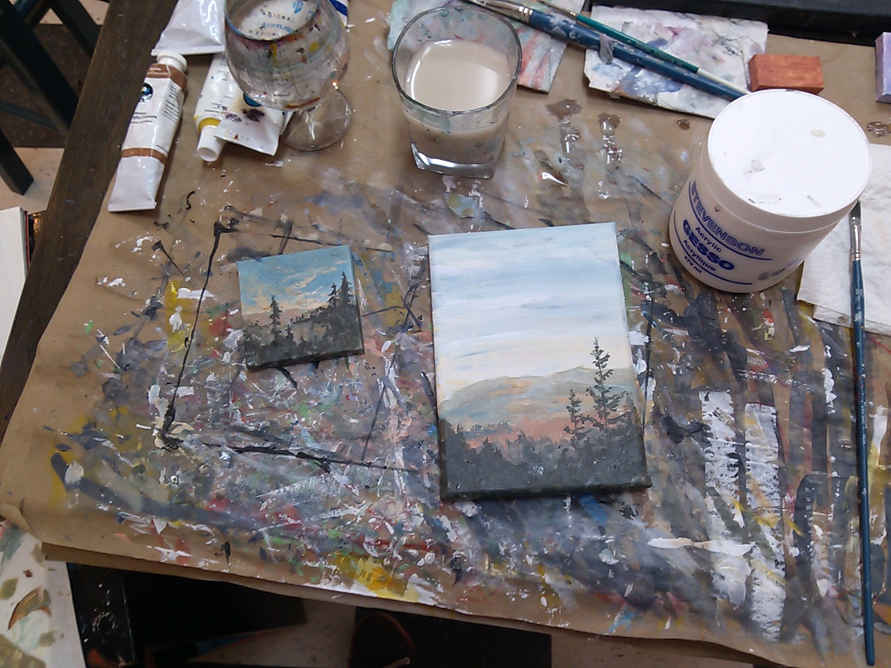 Painting in situ