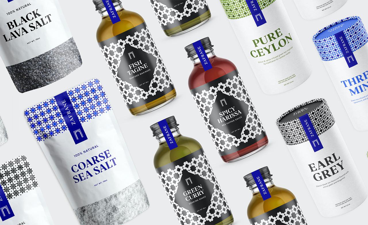 Charmaine Cheng for Zafrane Packaging Graphic Design Merit