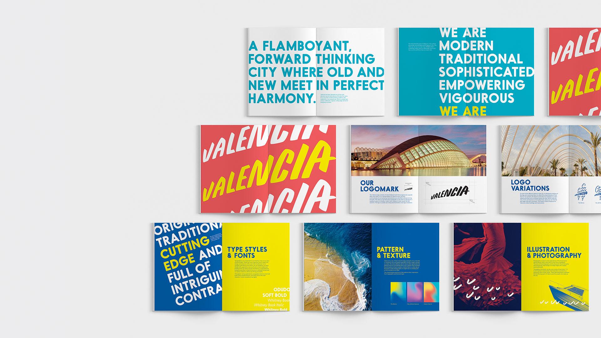 Alice Zeng for City of Valencia Rebrand Graphic Design Merit