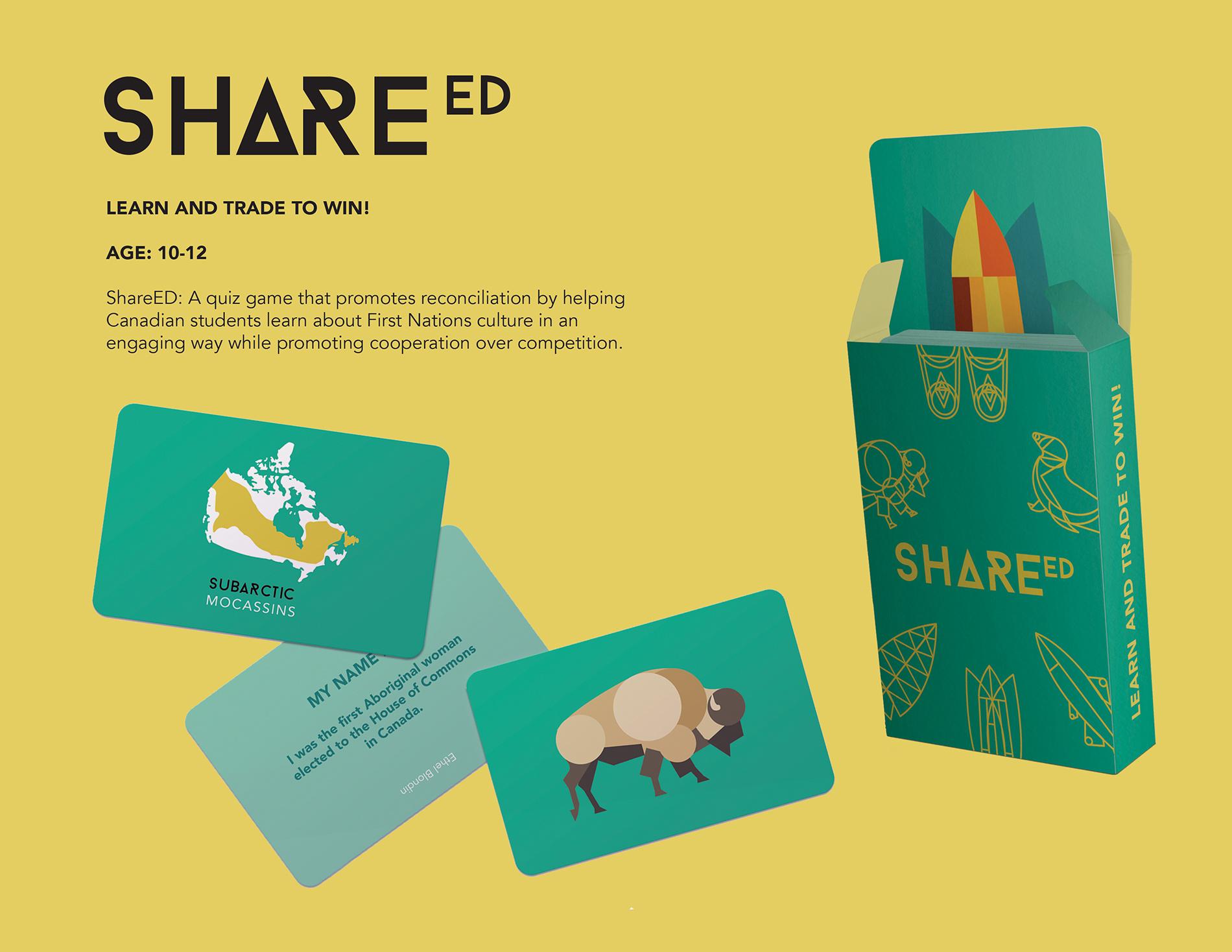 Rebekah Maurice for ShareED Graphic Design Merit