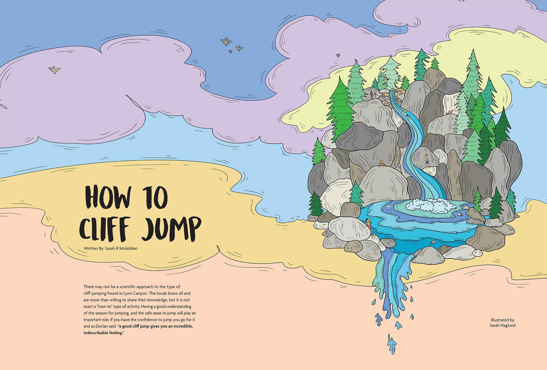 Sarah Haglund—How To Cliff Jump