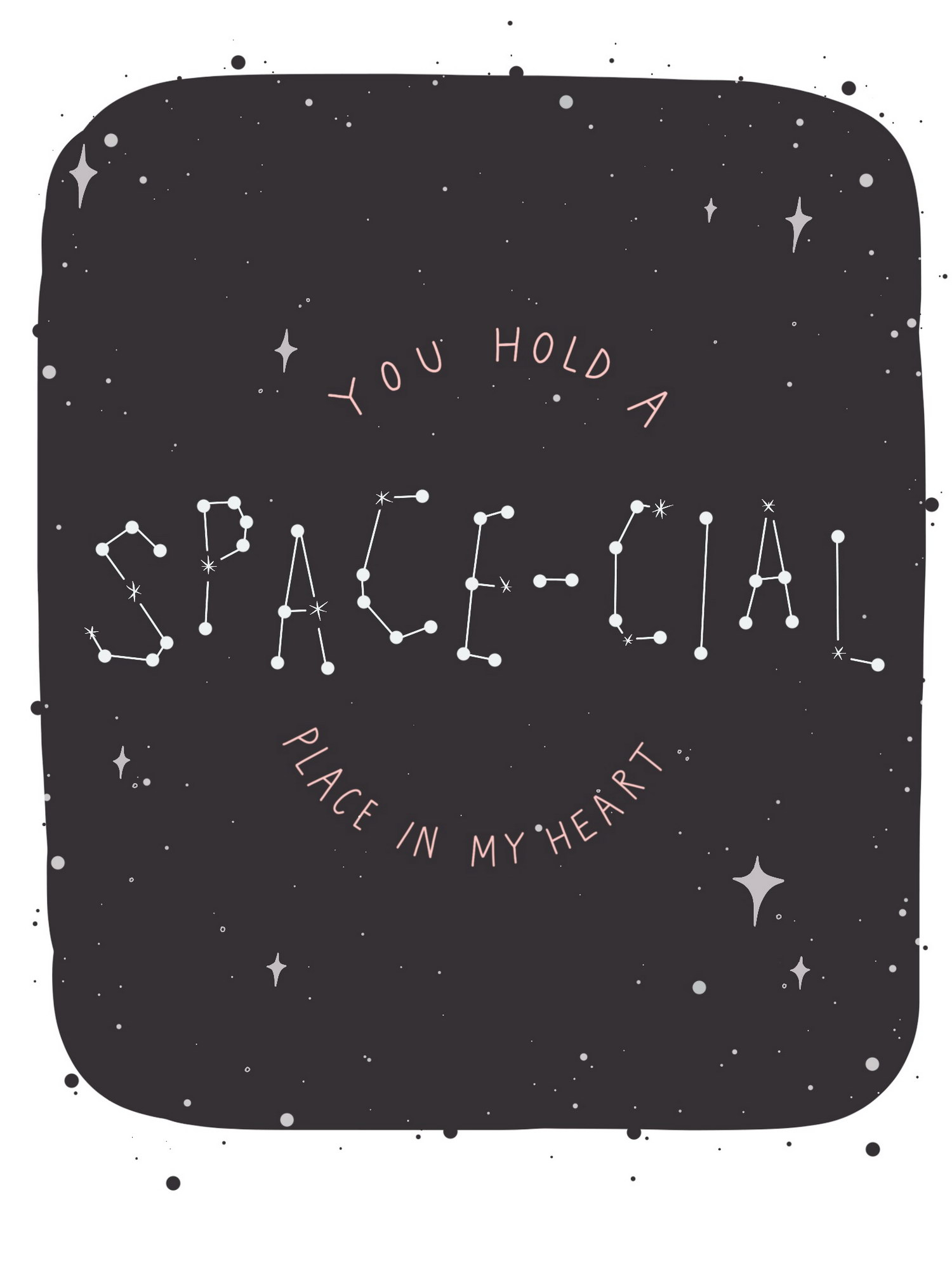 You Hold A Space Cial Place In My Heart