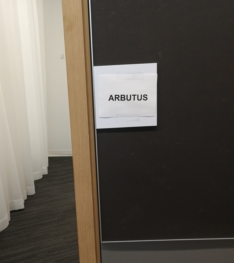 The board rooms have recently been renamed, from bears to trees. So while I may be spending far less time at the Arbutus building I can now work in the Arbutus room!