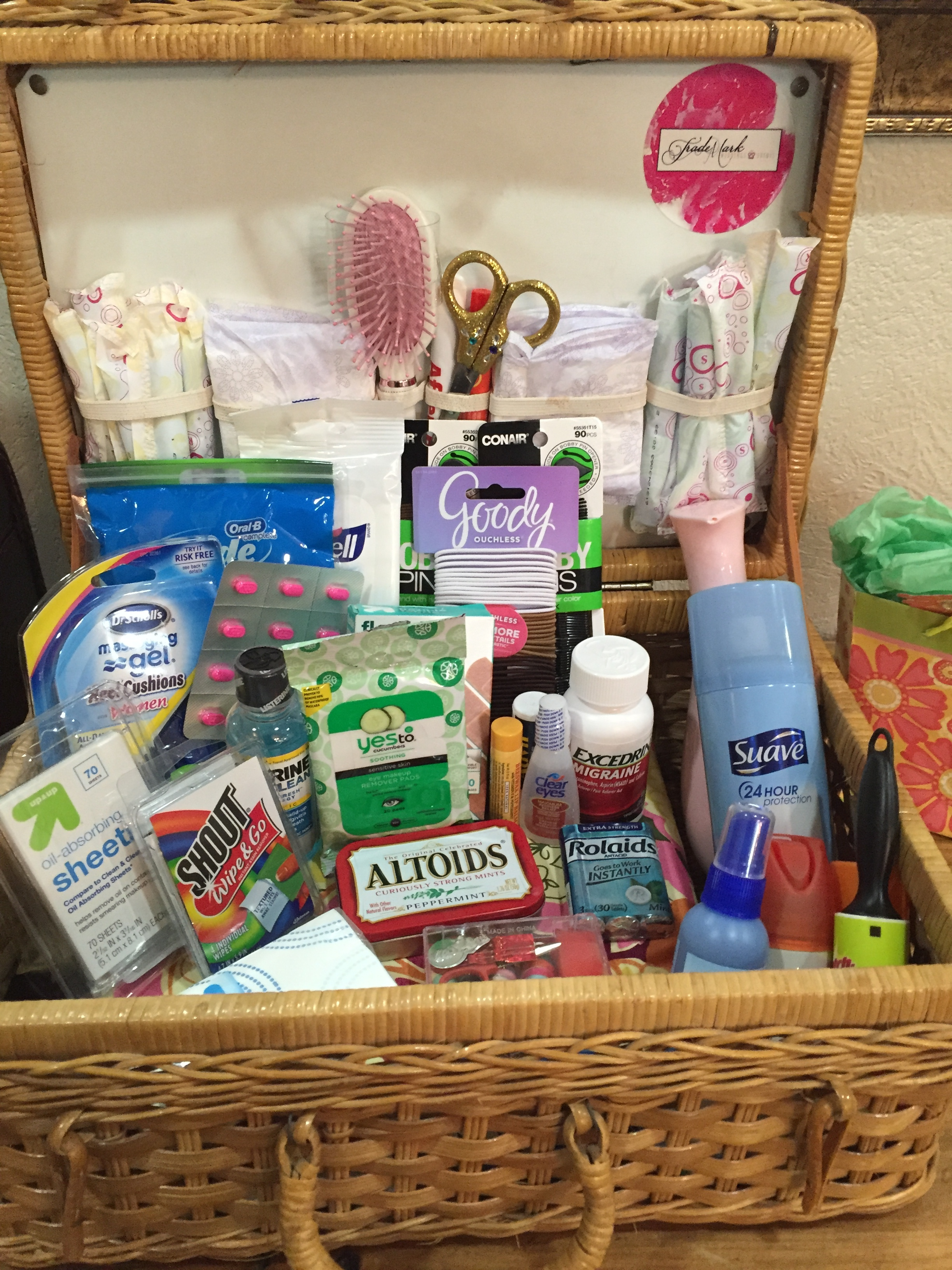 The bridal suite's Emergency Kit