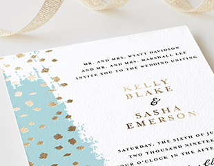 Bonus! Working with a planner sometimes gives you the opportunity to utilize a discount afforded to planners, like the program we're a part of with  Minted!