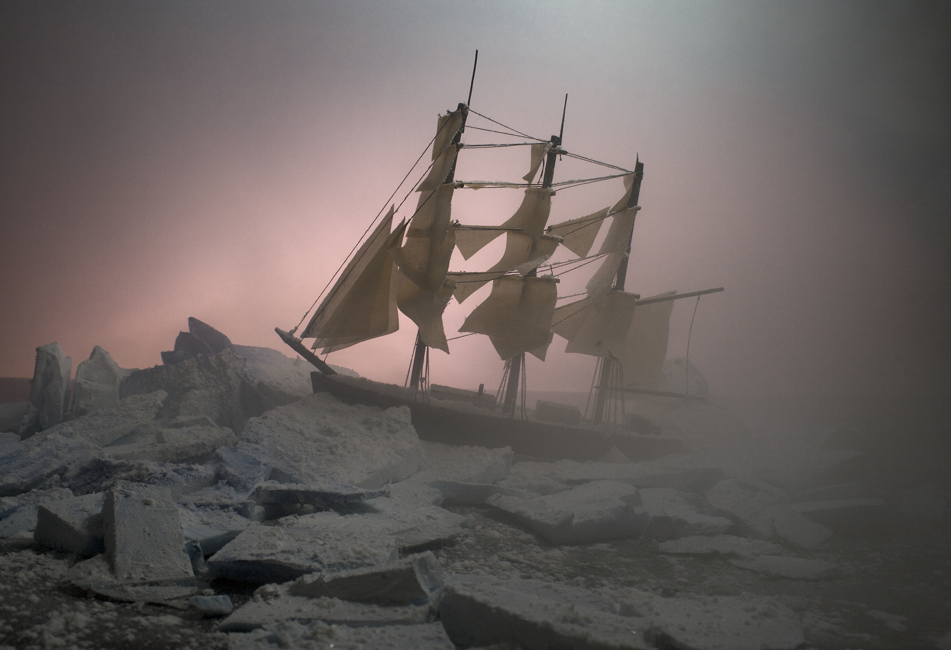 Ship Wreck (framed)