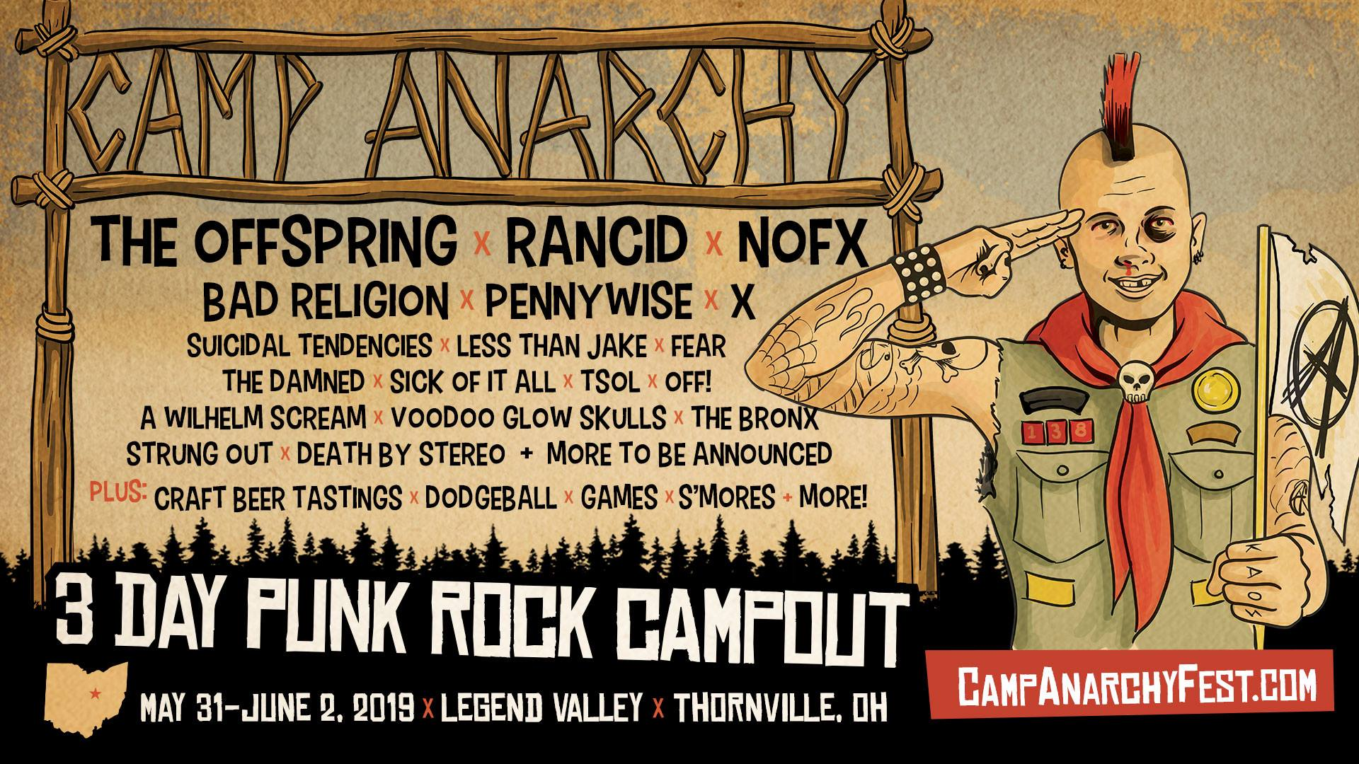 CAMP ANARCHY: Punk, Camping & Beer.. Oh My!