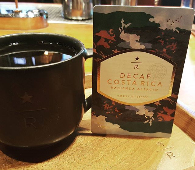 Did you know there's a new decaf in town? Decaf Costa Rica Hacienda Alsacia is available at the Roastery. Sparkling acidity marked by citrus and milk chocolate flavors.
