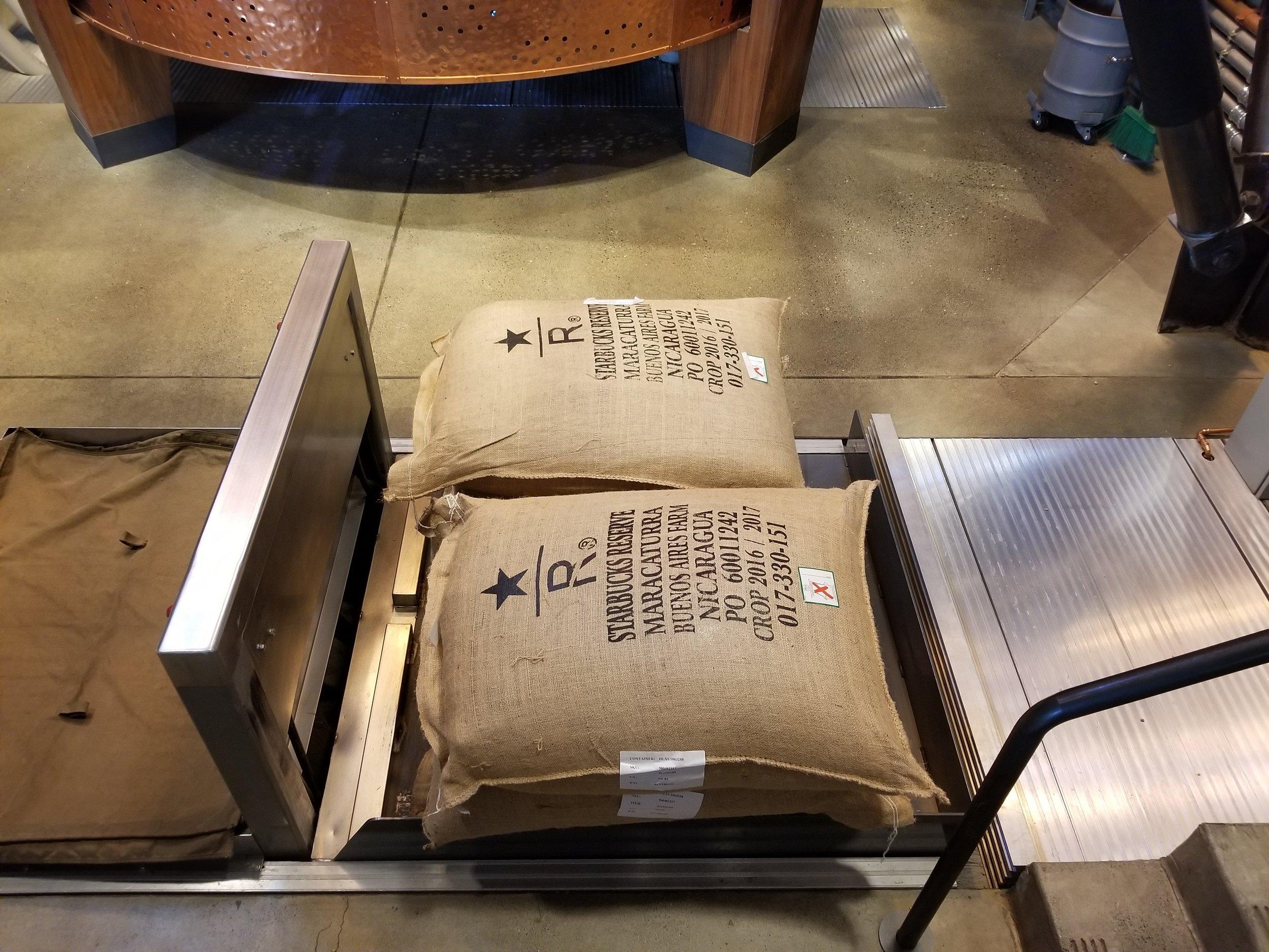 20171015_141406(0) Nicaragua Maracaturra burlap coffee sacks.jpg