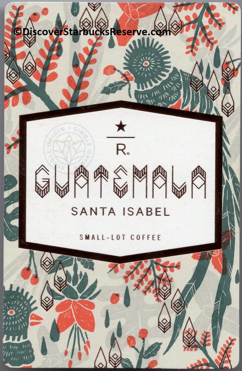 2 - 1 - Front of Guatemala Santa Isabel card.jpg