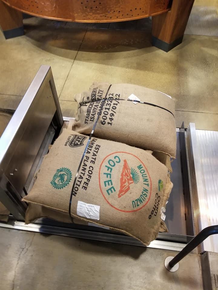 2018 May 31 Zambia coffee in their burlap sacks.jpg