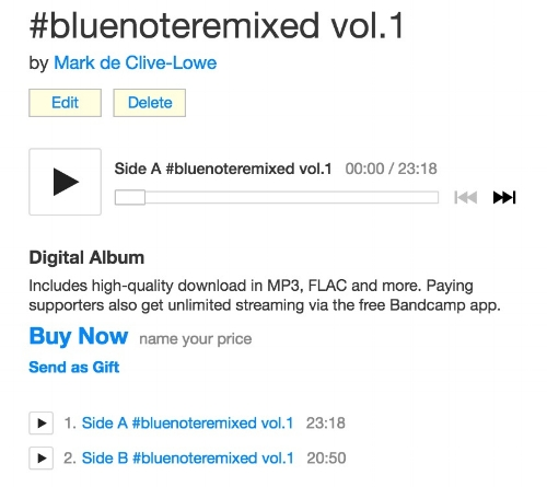 Support this project via Bandcamp!   --> bluenoteremixed.bandcamp.com