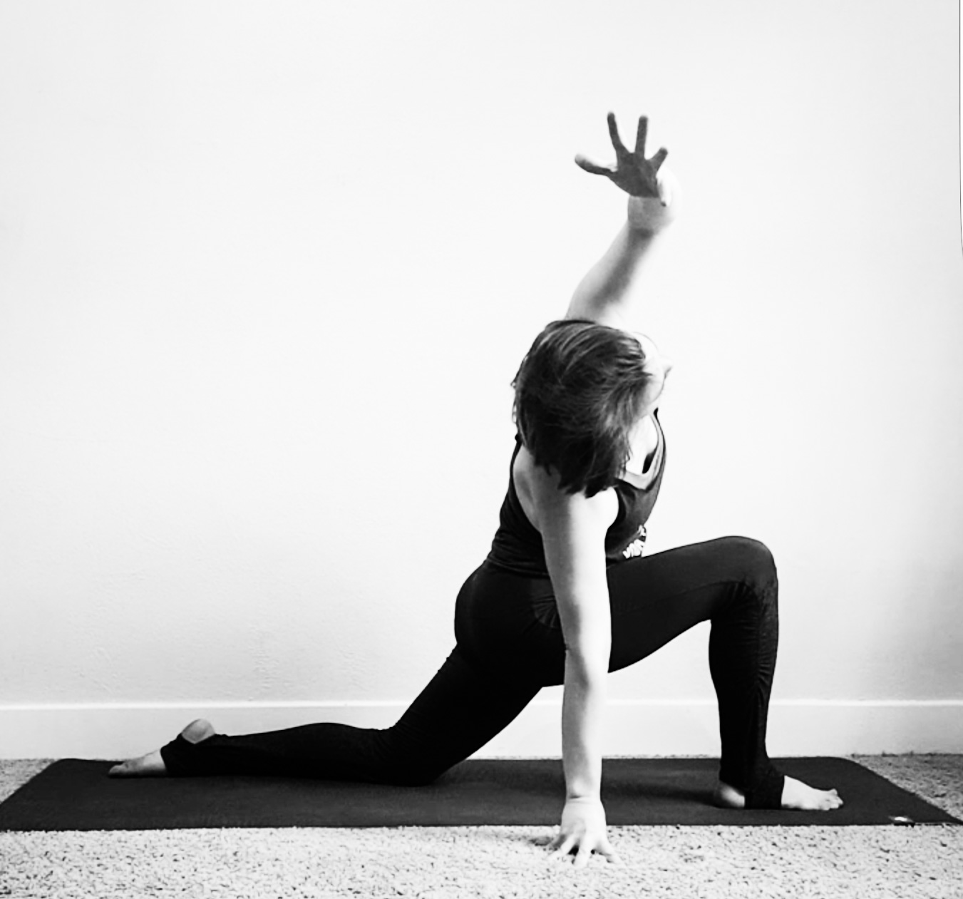 low lunge stretch yoga