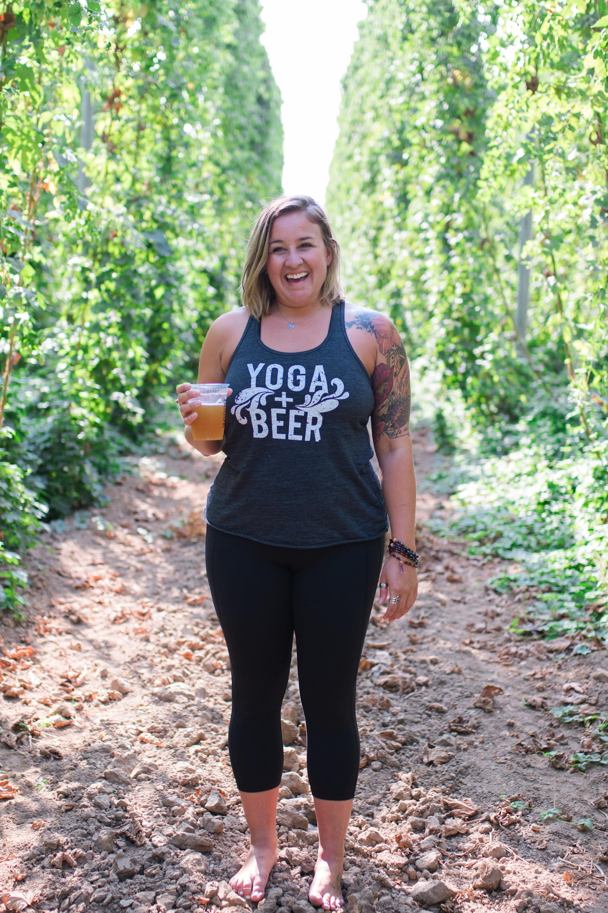 Yoga Beer Teachers Yoga Classes In Oregon And Washington Breweries Yoga Beer