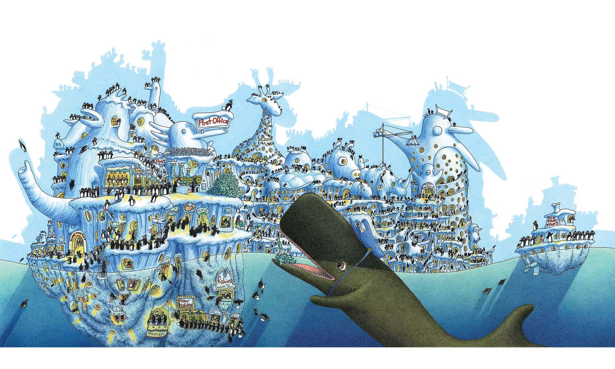 Penguin Icetown