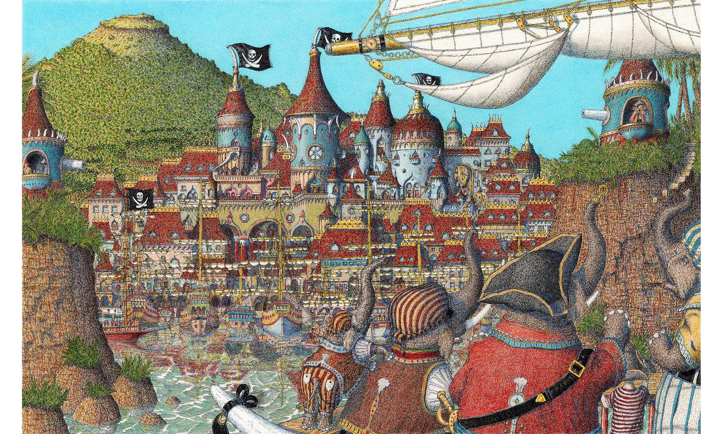 The Pirate City Of Tuskamoro