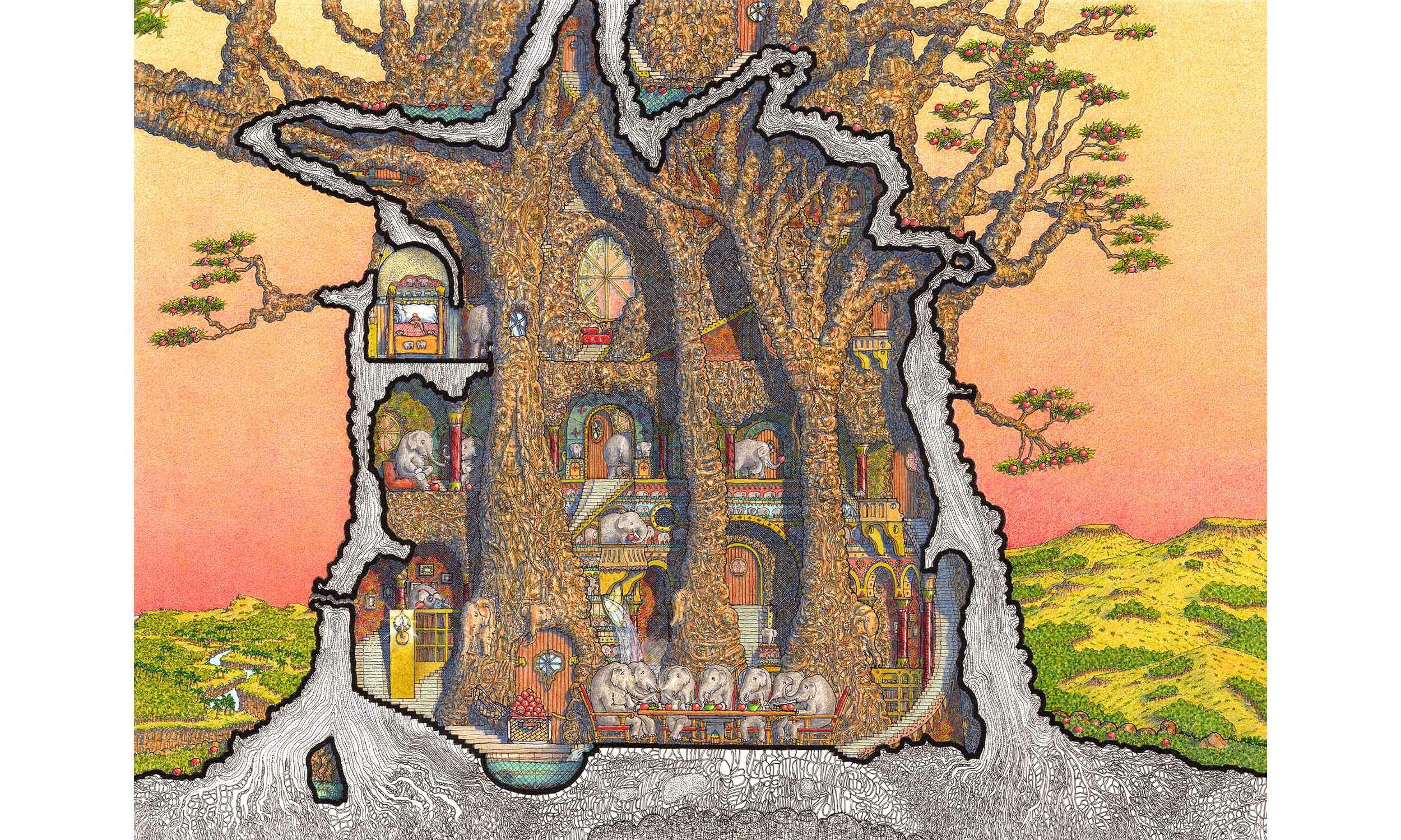 The Elephant Tree Interior