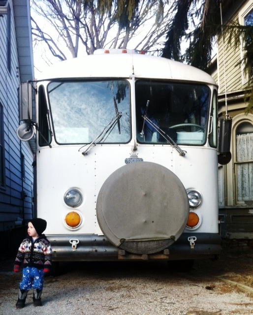 Our tiny home, a renovated school bus | Rogue Carrots