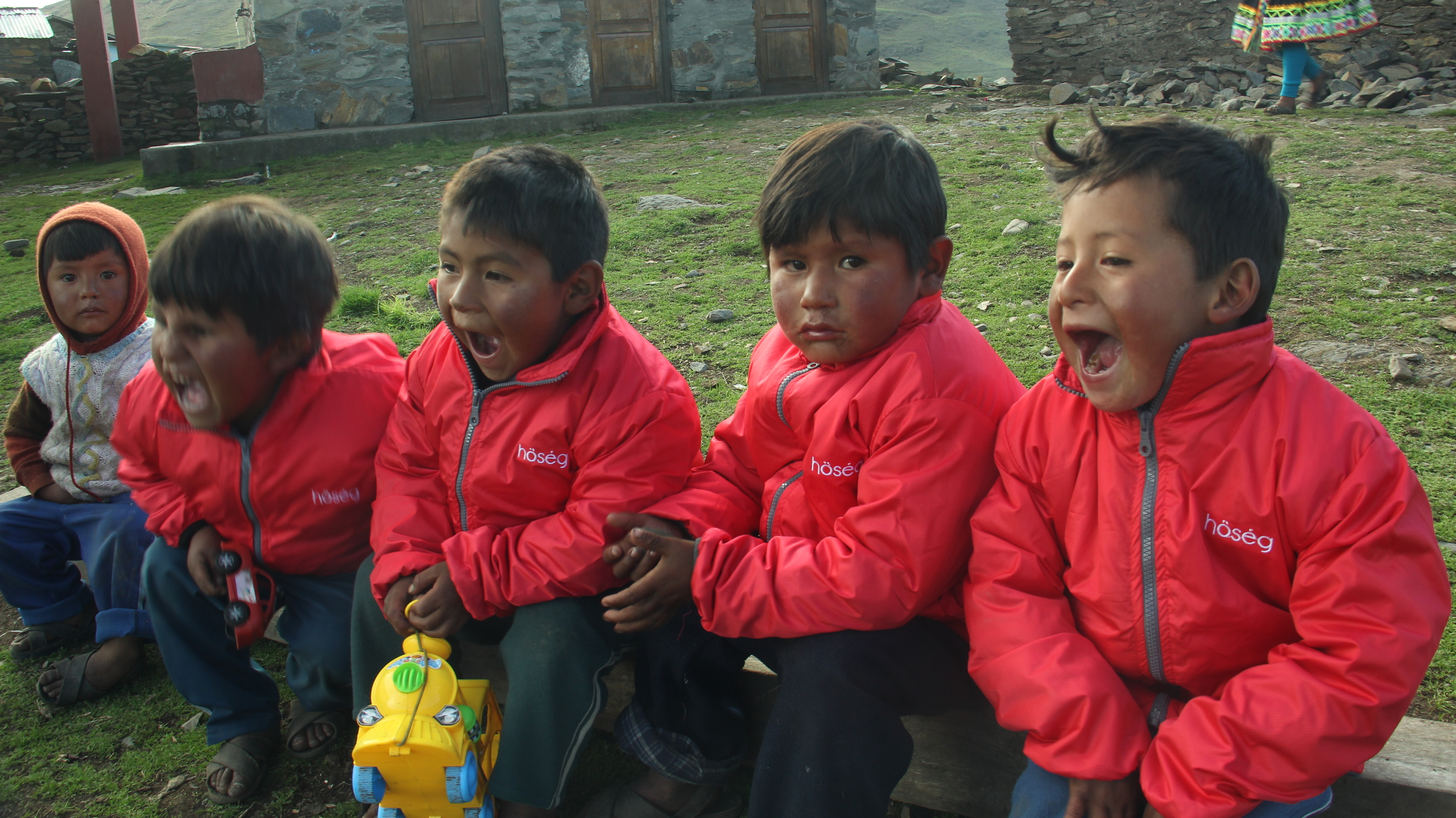WE ARE COMMITTED   to support best-in-class charities helping underprivileged Peruvians