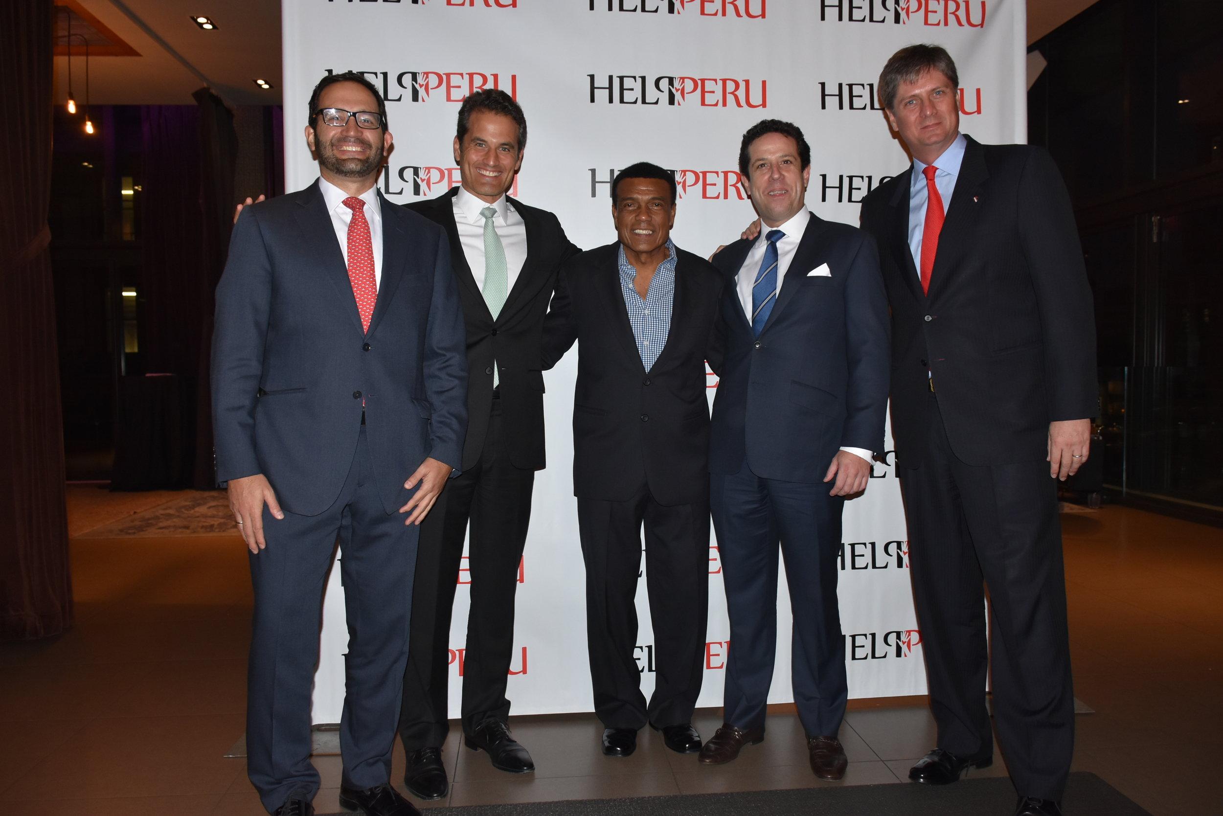 DSC_4627 -Fernando Bravo, Virgilio de la Piedra, Teofilo Cubillas, Alfonso Barros y Michael Holme.JPG