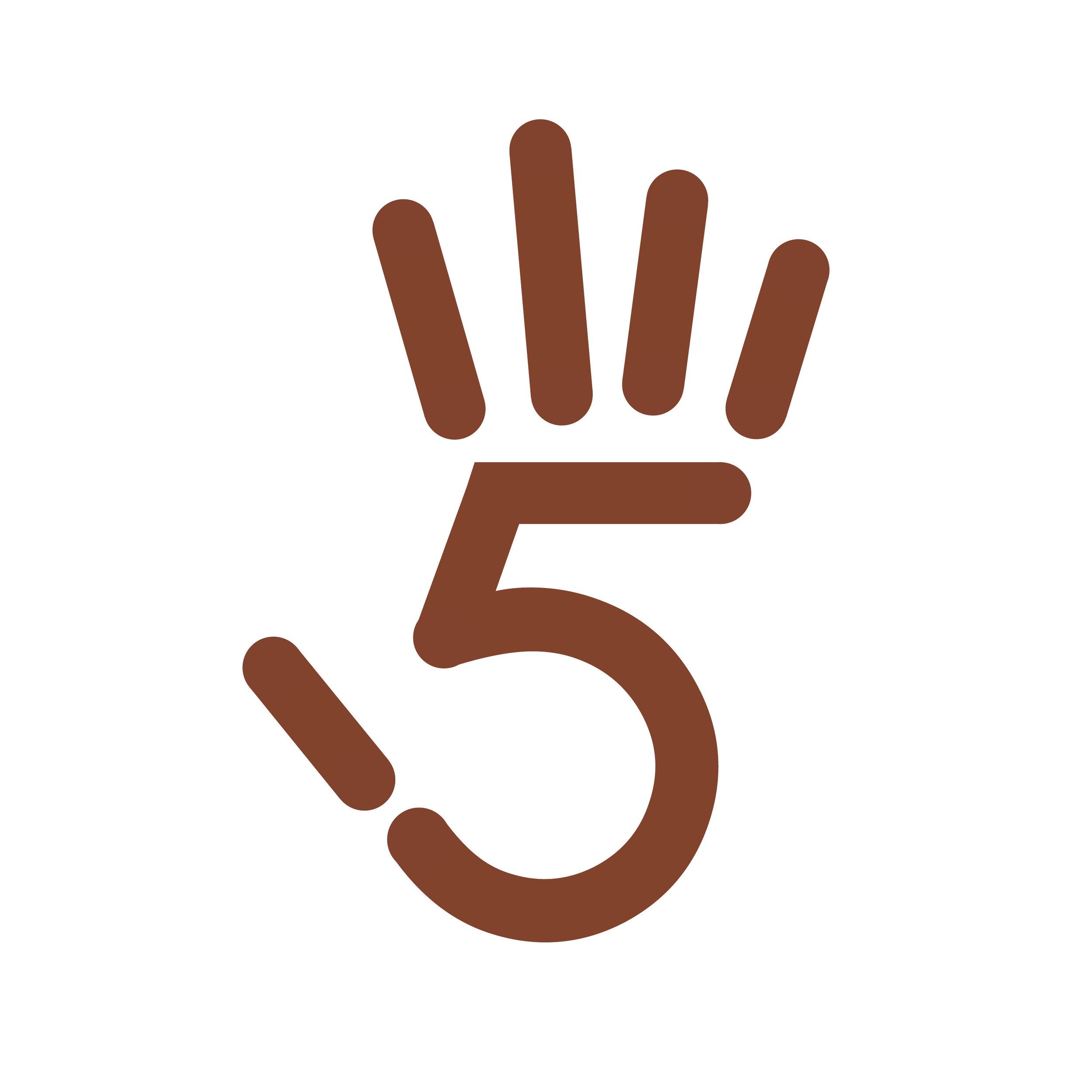 5 is for hifive.jpg