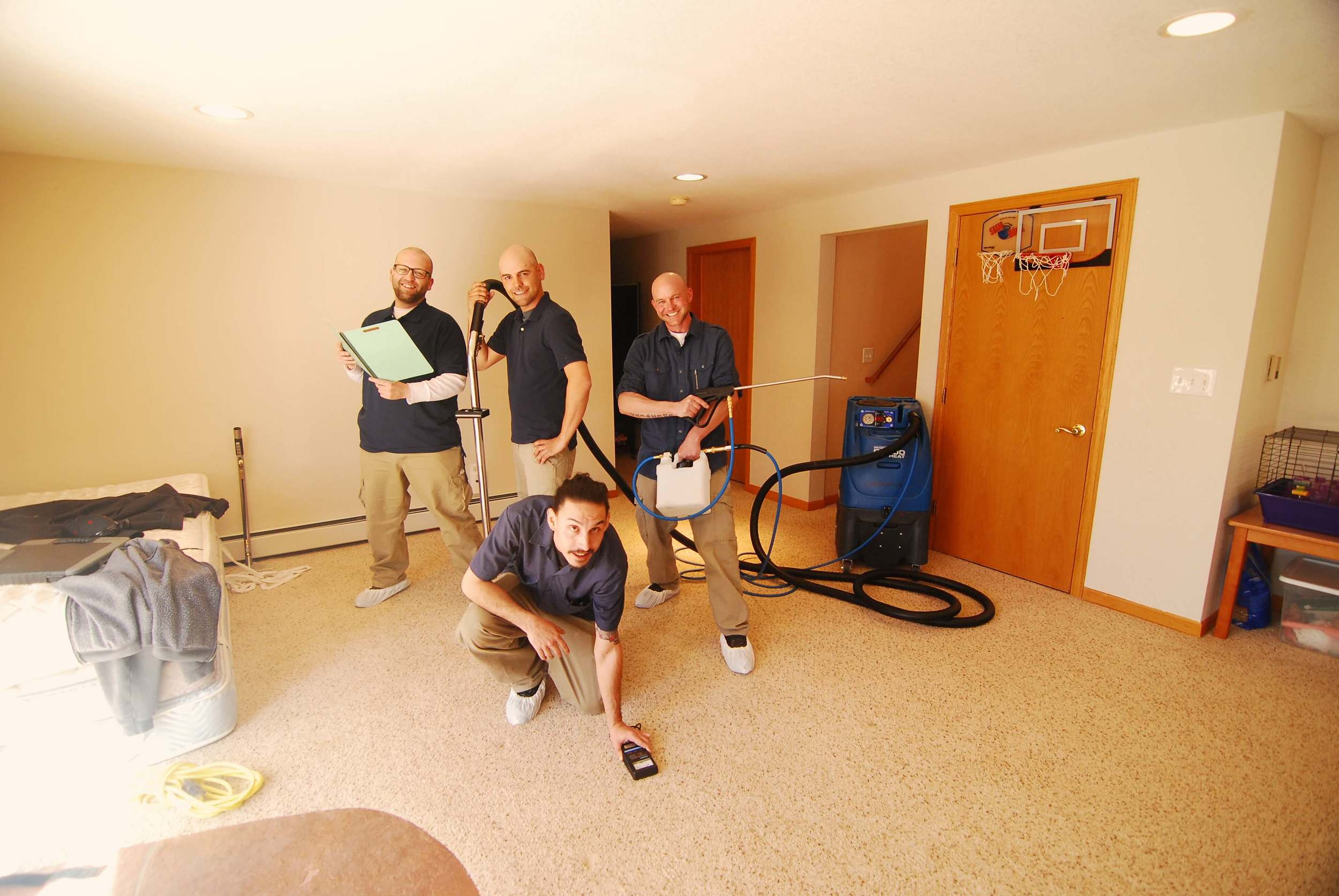 """"""" Theo and his team are incredible. They are very friendly, knowledgeable and professional. If you need anything from ultra clean carpets to advanced restoration, these are your go to guys."""" - Bob, Boulder"""
