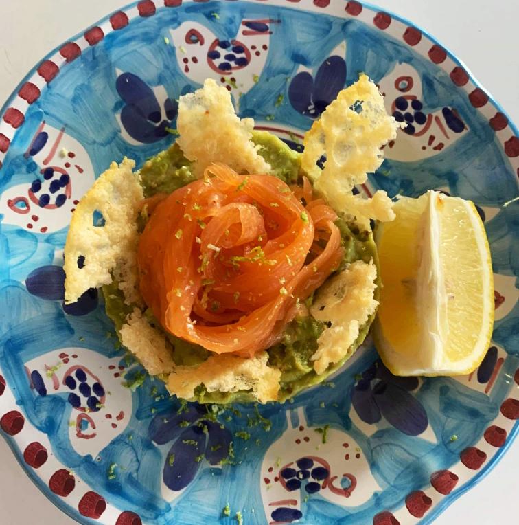 New on the Autumn Menu! -   Salmone e Avocado
