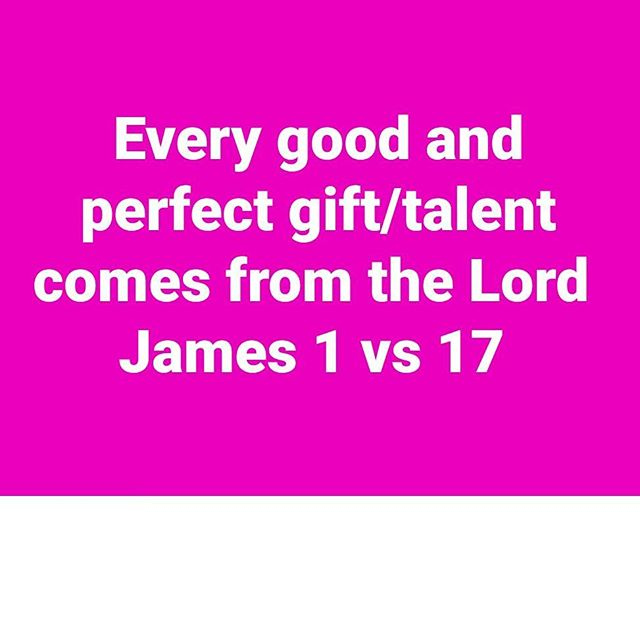 What are you doing with your gift? 👑💄 #stayhumble #useyourgiftforgodsglory  #blessed #quoteoftheday #neverbeproud #nevercompareyourselftoothers #blessed