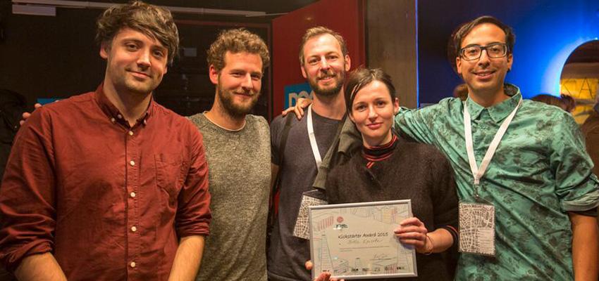 Team Three:Simon Ryninks (director),Eric Schockmel (animator),Adriaan Wormgoor (creative technologist),Lauren Moffatt (VR artist),Israel Bañuelos (sound designer).