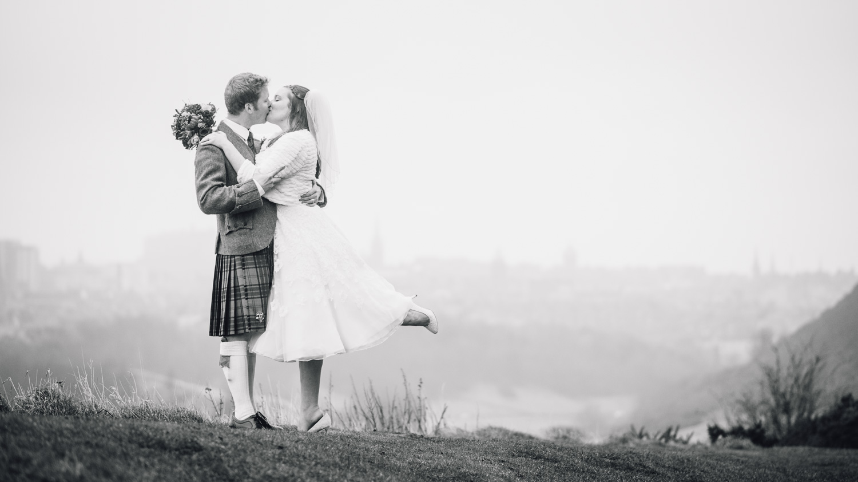 Edinburgh Wedding - Arthurs Seat