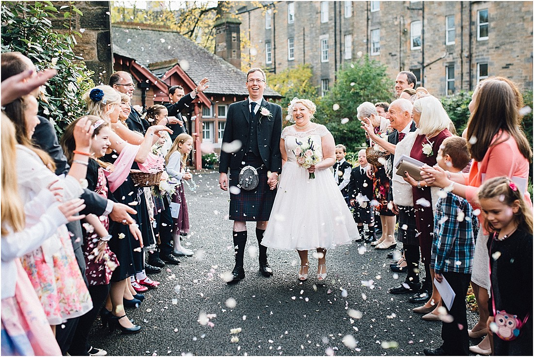 Nicola & Peter's Wedding at St Peter's Church & The Royal Scots Club