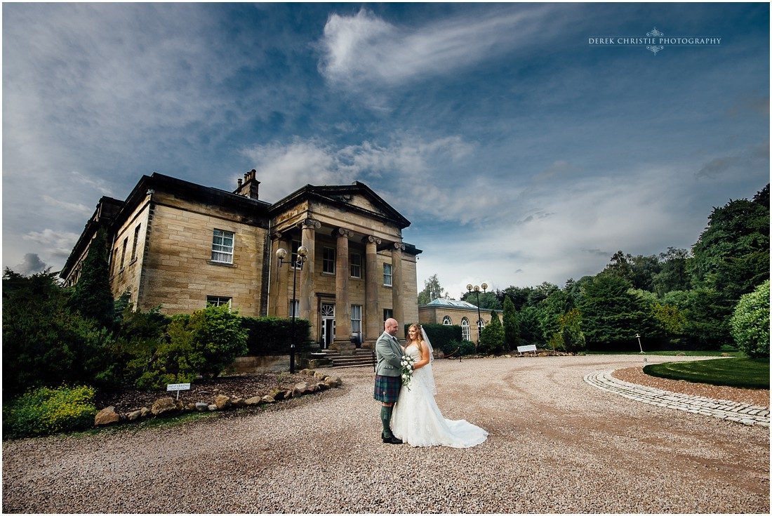 Nichola & David's Wedding At The Award Winning, Balbirnie House Hotel.