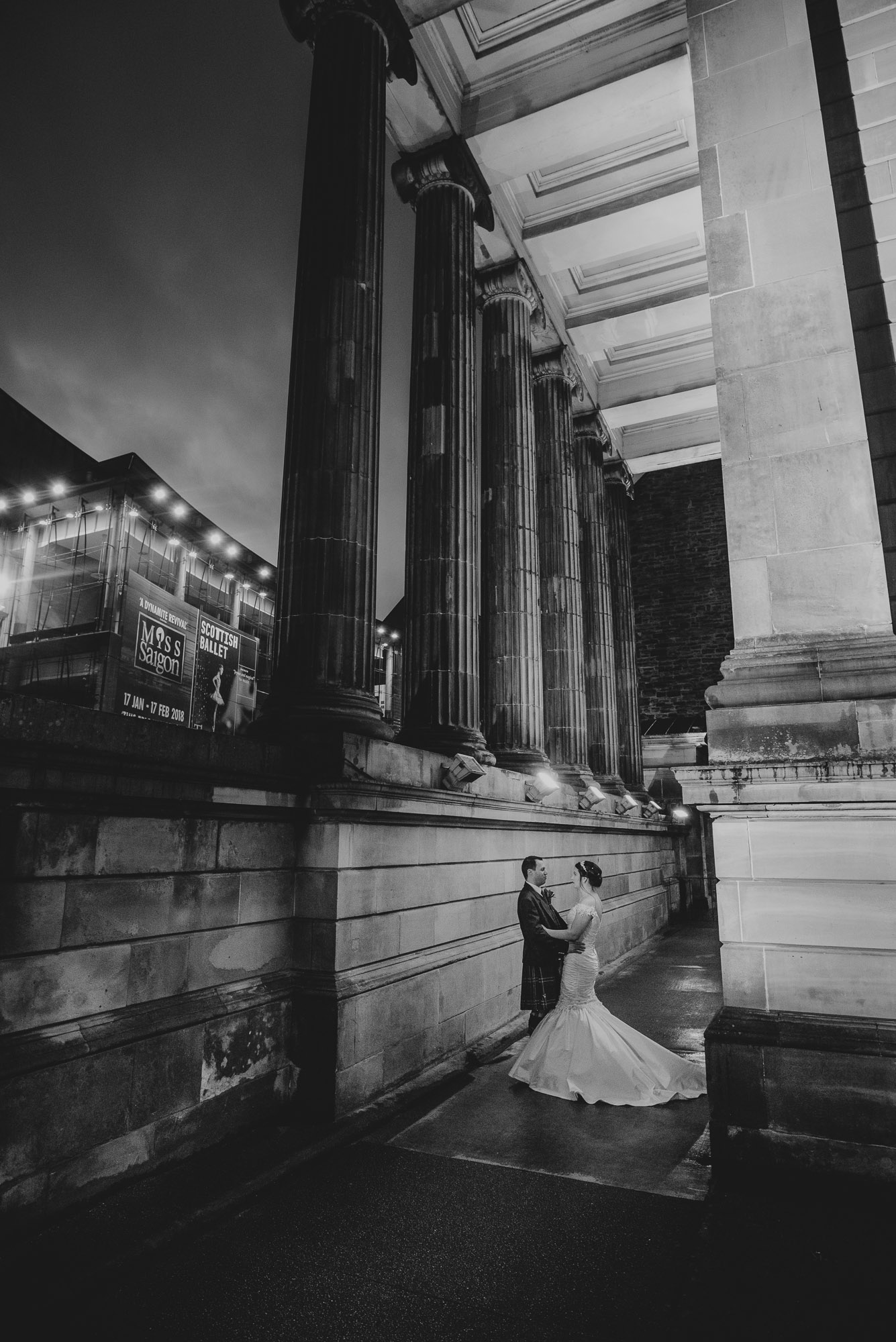Surgeons Hall Wedding Mono