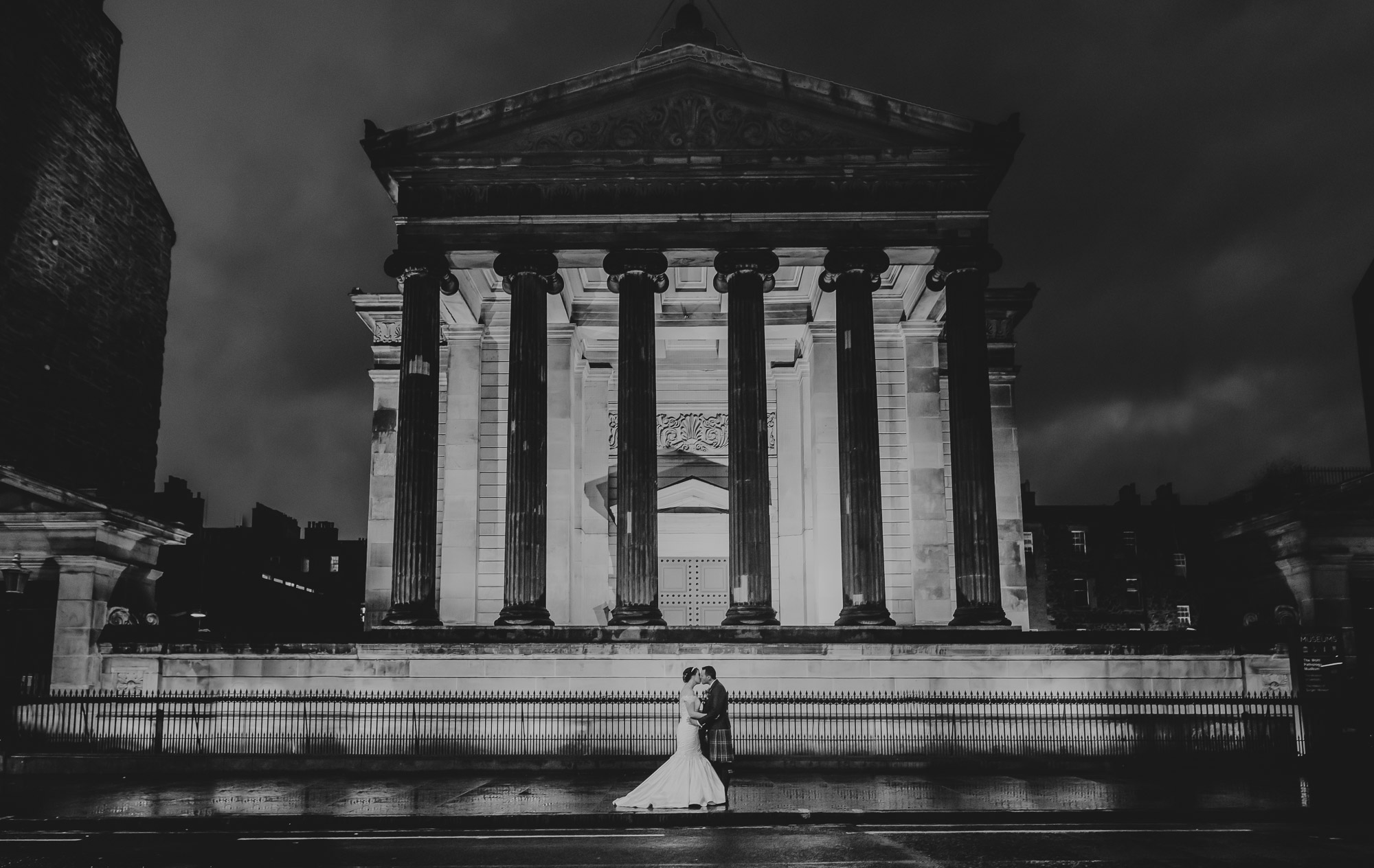 Surgeons Hall Wedding Edinburgh