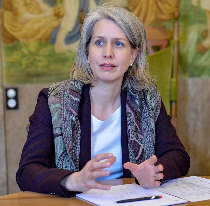 Franziska Bitzi Staub -Head of Department of Finance, City of Lucerne