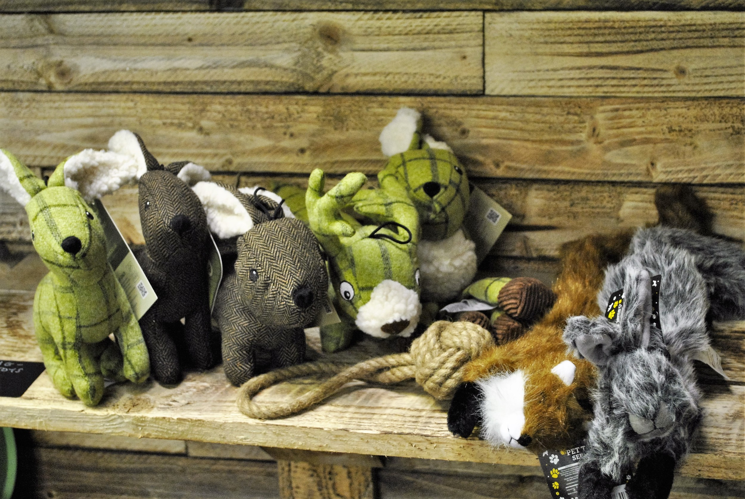 Dog toys for sale at Ginger&Browns pet shop in Northwich, Chester near Chester, Winsford, Frodsham. Shop in store or buy online.